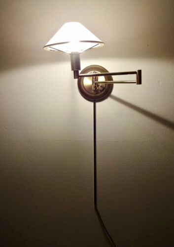Holtkotter Incandescent Swing Arm Wall Sconce