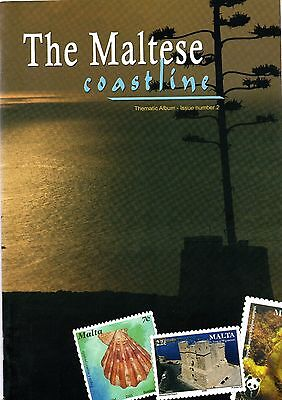 Malta A4 Thematic 24 Page Maltese Coastline Booklet Containing 8 Complete Sets