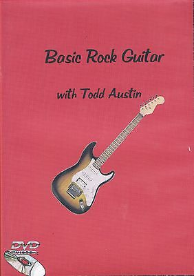 Basic Rock Electric Guitar Instructional DVD with Todd Austin
