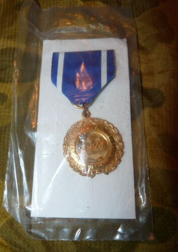 Florida National Guard Long and Faithful Service Medal - New in Package