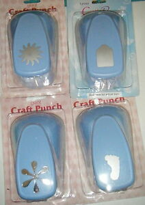 Woodware-Super-Giant-approx-2-inch-Craft-paper-card-Punches-Various-Designs
