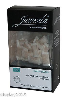 Juweela® 50 Sandsäcke flexibel 1:35 Ladegut Modellbau Diorama 20013