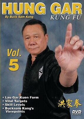 Hung Gar Kung Fu #5 vital targets, Lau Gar Kuen form ++ DVD Buck Sam Kong