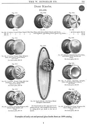 Glass Door Knobs & Drawer Pulls-catalogs, advertisements, pa