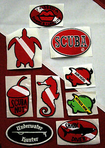 scuba-patch-diving-equipment-novelty-fun-gift-snorkeling-jacket-beach-ocean-sand
