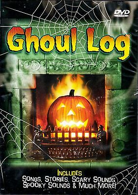 GHOUL LOG: VIRTUAL HALLOWEEN JACK-O-LANTERN w/SCARY MUSIC, SCENES & SOUNDS! RARE](Virtual Halloween)