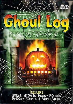 GHOUL LOG: VIRTUAL HALLOWEEN JACK-O-LANTERN w/SCARY MUSIC, SCENES & SOUNDS! NEW!