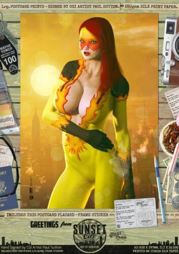 Firestar Avengers X-Men Sexy Marvel