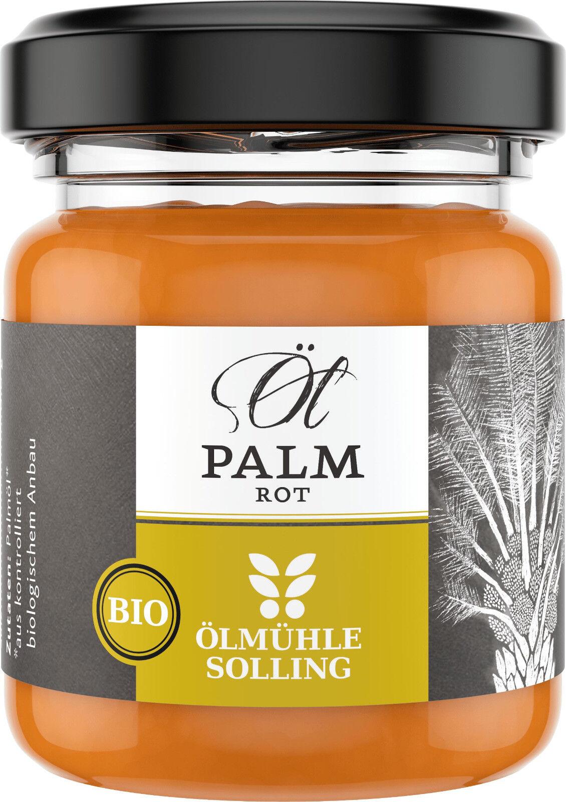 Ölmühle Solling Bio Palmöl rot nativ 30 ml