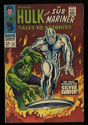 Tales To Astonish #93 VG/FN 5.0 Silver Surfer!