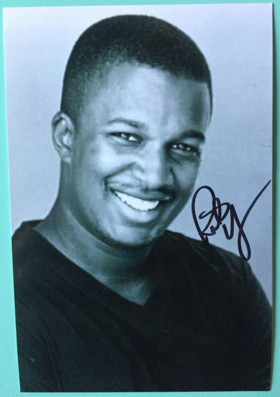 Rick Younger Signed 4X6 BXW Photo  Mr Duvall Mean Girls Broadway  The Today Show