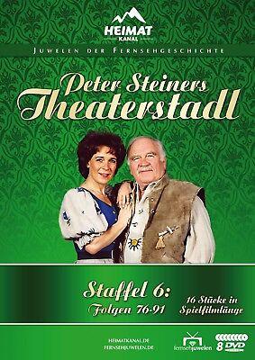 Peter Steiners Theaterstadl - Staffel 6 (Folgen 76-91) - Fernsehjuwelen [8 DVDs]