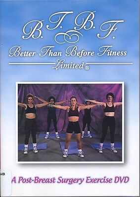Better Thank Before Fitness FTBF: Post-Breast Surgery Exercise DVD Breast