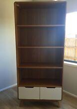 Beautiful Oak Retro 2 Drawer Bookcase South Brisbane Brisbane South West Preview
