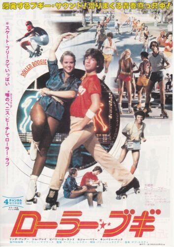 ROLLER BOOGIE:Linda Blair- Original Japanese  Mini Poster Chirash