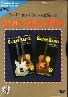 Ultimate Beginner Series - Acoustic Guitar Basics Steps One & Two By Keith Wyatt Two Ultimate Beginner Series