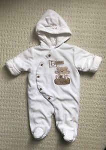 Baby winter bunting bag / snow suit (3-6m)