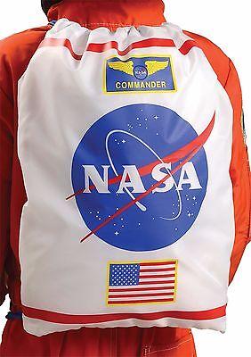 Kinder Nasa Fach Astronaut Rucksack Tragetasche Kostüm Zubehör (Astronaut Kostüm Rucksack)
