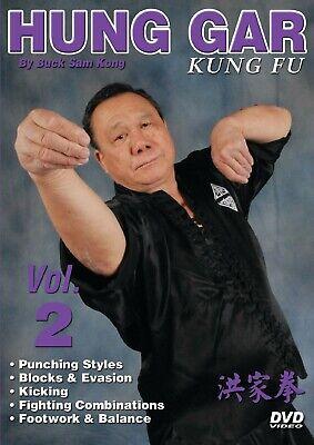 Hung Gar Kung Fu #2 punching, evasion, kicking, fighting DVD Buck Sam Kong
