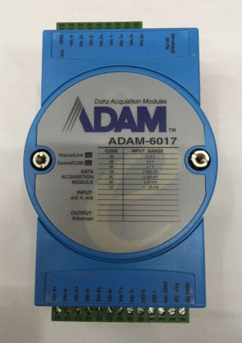 ADAM DATA ACQUISITION MODULES ADAM-6017 MODULE