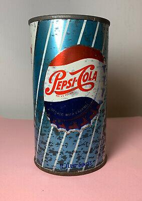 VTG 1960'S PEPSI COLA TIN FLAT TOP BOTTLE CAP TOP STEEL STRAIGHT OLD  Old Pepsi Bottles