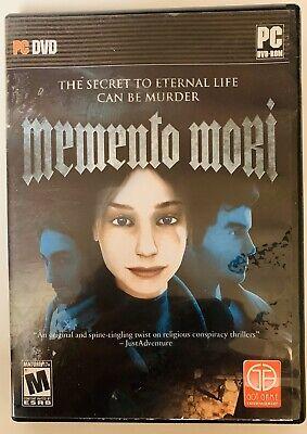 MEMENTO MORI - Conspiracy Thriller Mystery Adventure PC Game  Mystery Adventure Game