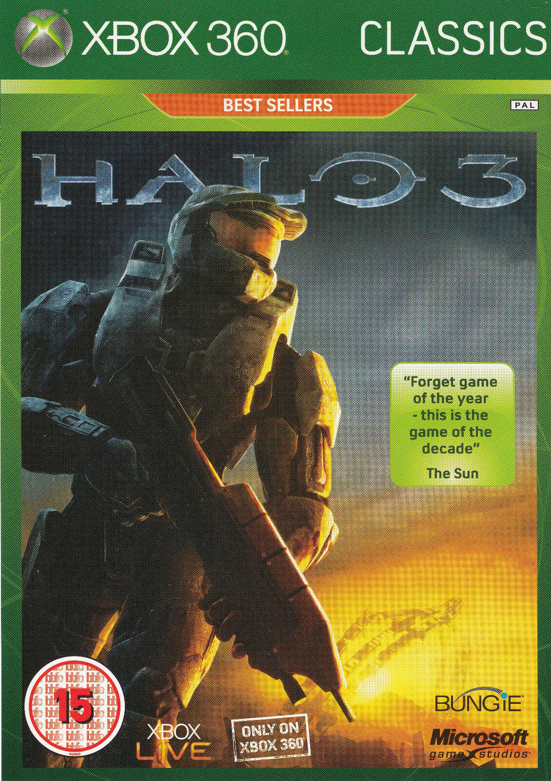 Xbox 360 Games - Halo 3 Xbox 360 Brand New Factory Sealed Fast Shipping