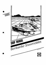 Bombardier shop manual 1985 FORMULA SP & 1985 FORMULA MX