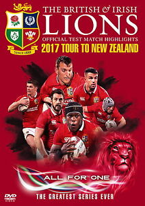 British and Irish Lions: Official Test Match Highlights 2017 Tour to New Zealand