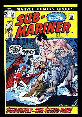 Sub-Mariner #46 VF/NM 9.0 Marvel Comics