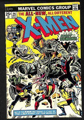 X-Men #96 FN 6.0 1st Moira McTaggert! Marvel Comics