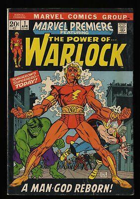 Marvel Premiere #1 VG- 3.5 1st Adam Warlock!