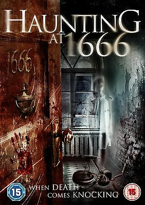 Haunting At 1666 (DVD) (NEW AND SEALED) (REGION 2)  (Haunted Halloween Escape 2)
