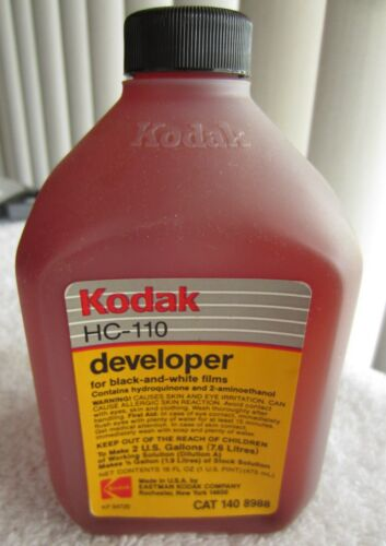 Kodak HC - 110 black and white developer, makes 2 gallons