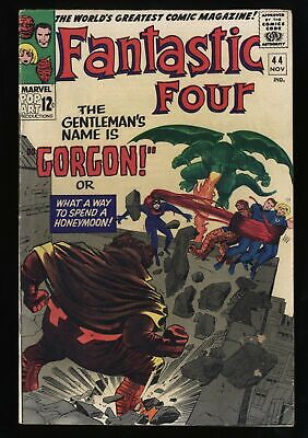 Fantastic Four #44 VG/FN 5.0 White Pages
