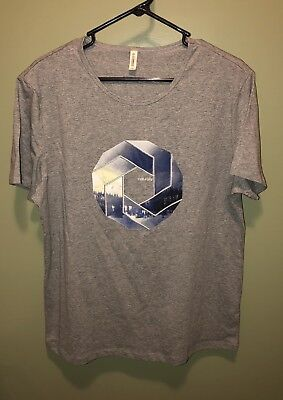 Used, Women's T-Shirt Gray Color Recycleable Fabric Environmentally Aware,Fits Size XL for sale  Kansas City
