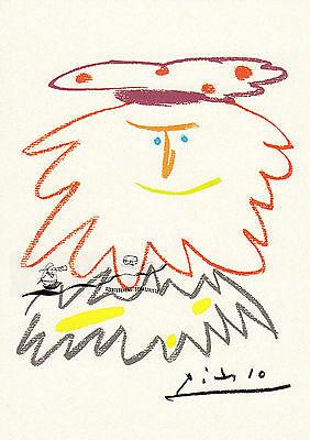 Kunstkarte: Pablo Picasso - Der König Badadakharida