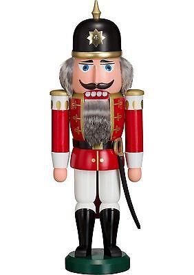 NUßKNACKER Soldat rot NEU Erzgebirge Seiffen Volkskunst Original Weihnachten