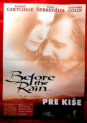 BEFORE THE Dialect mizzle 1994 KATRIN CARTLIDGE RADE SERBEDZIJA G. COLIN EXYU MOVIE POSTER