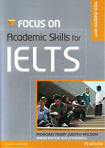 Longman FOCUS ON ACADEMIC SKILLS FOR IELTS with Audio CD's @BRAND NEW BOOK@