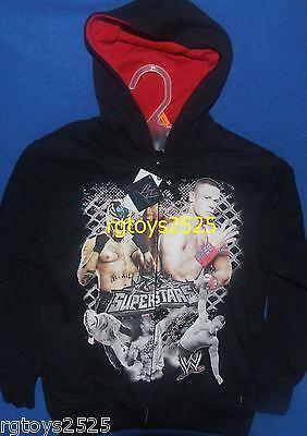 Wwe John Cena Rey Mysterio Size 4-5 Xs Sweatshirt Jacket Hoodie Childs Kofi
