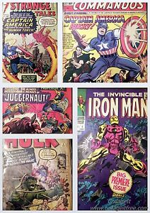 GRAB-BAG-COMIC-BEST-ON-EBAY-Iron-Man-1-X-Men-12-Tales-of-Suspense-39