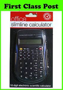 Pocket Calculator. Scientific Calculator. Batteries Included. 10 Digit. NEW!