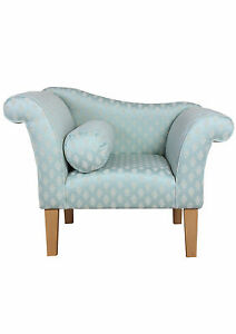 Gorgeous-Designer-Armchair-upholstered-in-a-Duck-Egg-Blue-Diamond-fabric-SR13134