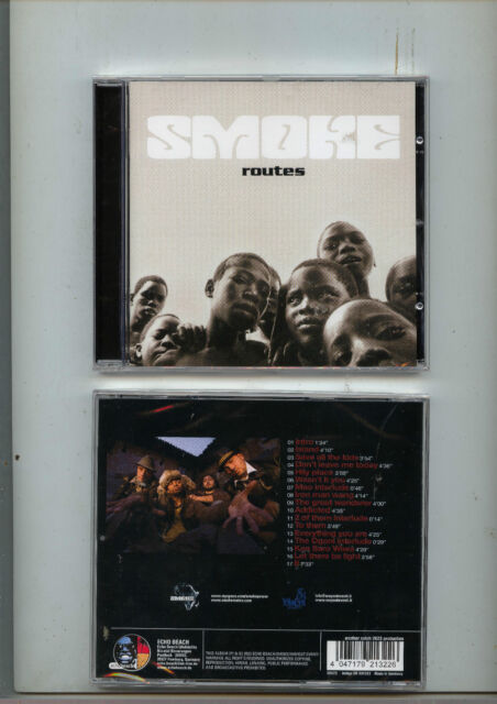 """SMOKE - """" Routes """" CD 2009 ovp ECHO BEACH - recommended !"""
