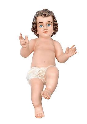 Bambino Ges in Resina<br />ALTEZZA CM. 50Occhi di Cristallo Azzurri<br /> nuovo