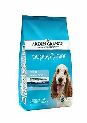Arden Grange Chicken Puppy/Junior Dog Food 2kg