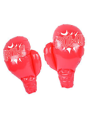 Inflatable Boxing Gloves Large Gloves Fancy Dress Accessory Scene TOY Fun Day - Balloon Boxing Gloves