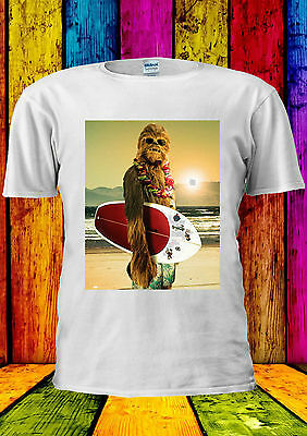 Funny Surfing T-shirt Vest Tank Top Men Women Unisex 452 (Star Wars Tank-top)