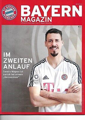 Bayern Magazin vom 21.01.2018 Offizielles Klubmagazin  FC Bayern - SV Werder Bre